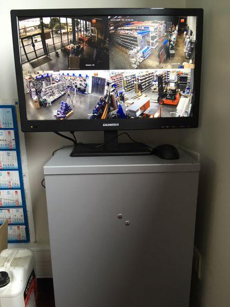 Pose d'un système de vidéosurveillance